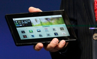 Blackberry Playbook Juli 2012